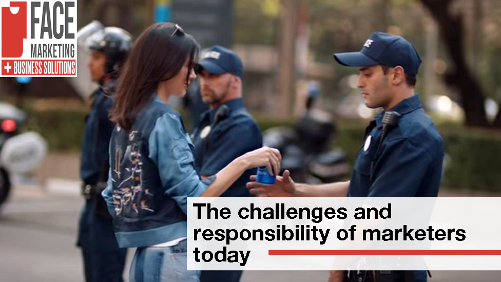 Challenges and responsibility of marketeers today